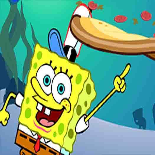 Spongebob Squarepants Pizza Toss